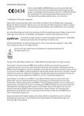 Nokia 6650 Bedienungsanleitung - Page 2