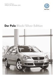 Der Polo Black/Silver Edition - Tauwald Automobile