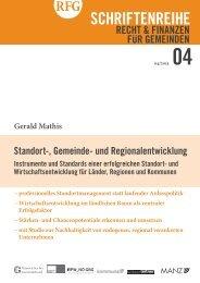 Standort-, Gemeinde- und Regionalentwicklung - Österreichischer ...