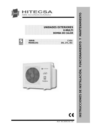 INSTRUCCIONES DE INSTALACIÓN, FU ... - Hitecsa