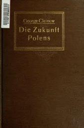 Die Zukunft Polens - booksnow.scholarsportal.info
