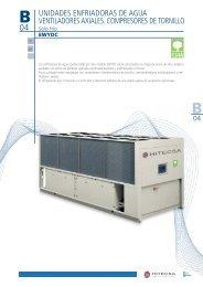 unidades enfriadoras de agua ventiladores axiales ... - Hitecsa
