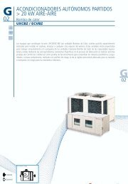ACONDICIONADORES AUTÓNOMOS PARTIDOS > 20 kW ... - Hitecsa
