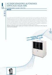 acondicionadores autónomos verticales agua-aire - Hitecsa