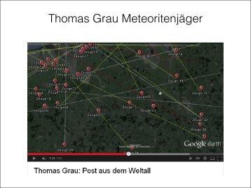 Thomas Grau Meteoritenjäger