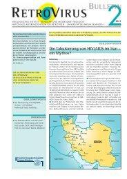 Die Tabuisierung von HIV/AIDS im Iran – ein Mythos? - GfV