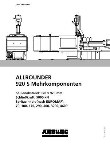 ALLROUNDER 920 S Mehrkomponenten - Arburg