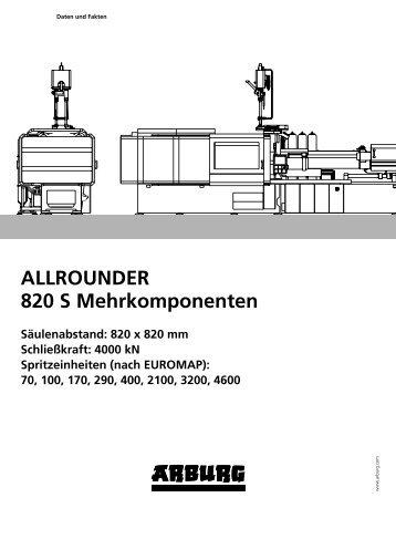 ALLROUNDER 820 S Mehrkomponenten - Arburg