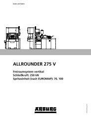 ALLROUNDER 275 V - Arburg