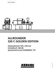 170 ALLROUNDER 320 C GOLDEN EDITION - Arburg