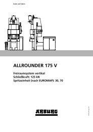 ALLROUNDER 175 V - Arburg