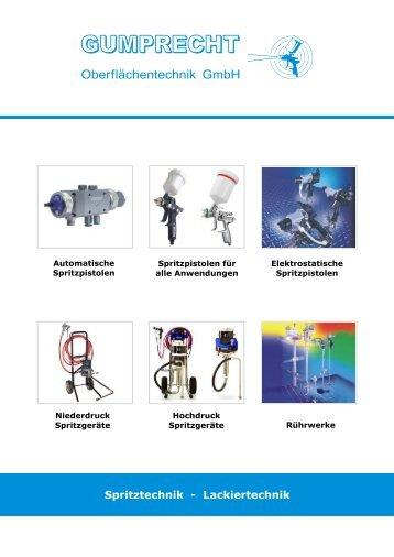 Spritz- und Lackiertechnik - Gumprecht Oberflächentechnik GmbH