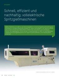 Schnell, effizient und nachhaltig: vollelektrische ... - B&R