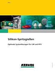 Prospekt: Silikon-Spritzgießen - Arburg