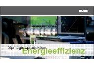 Energieeffizienz in der Spritzgiessproduktion