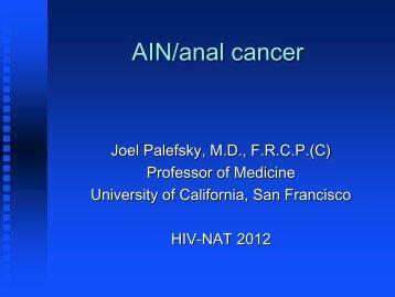 3. Anal cancer - HIV-NAT