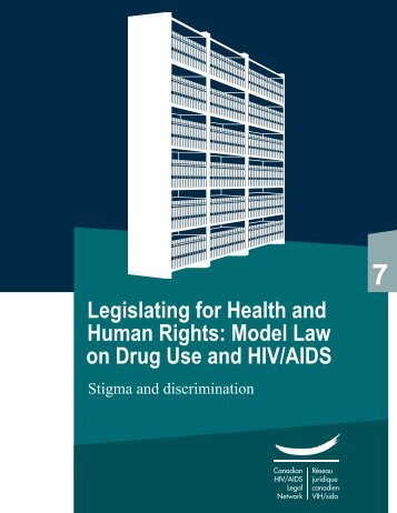 Model Law on Drug Use and HIV/AIDS