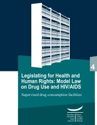 Module 4: Supervised drug consumption facilities