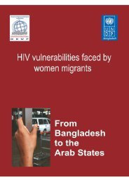 HIV vulnerabilities faced by women migrants: From ... - unaids