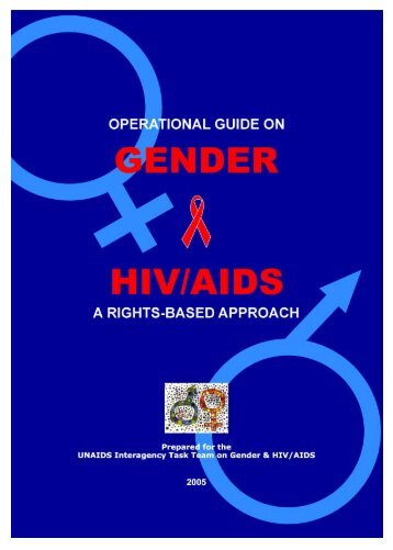 Operational Guide on Gender and HIV/AIDS : A Rights - UNFPA