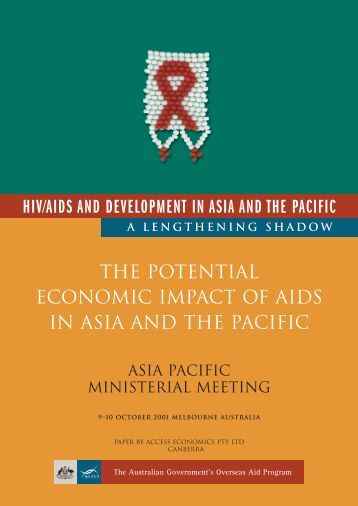 socio economic impact of hiv and Abstract this paper analyses the potential socio-economic impact of hiv disease in the philip pines, with focus on the situation of two vulnerable populations.