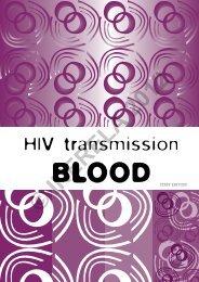 HIV Transmission - Blood