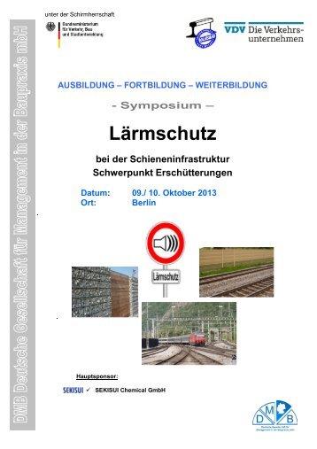 EINLADUNG zum Symposium Lärmschutz - Keine-stadtautobahn.de