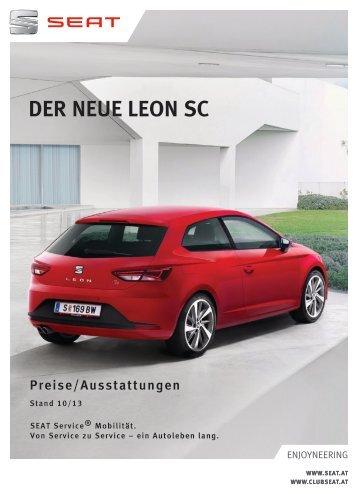 Preisliste im PDF-Format - SEAT Österreich