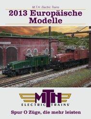 M.T.H. Katalog Deutsch - Hermann Modellbahnen