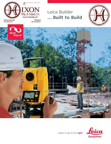 Builder Brochure - Global Survey