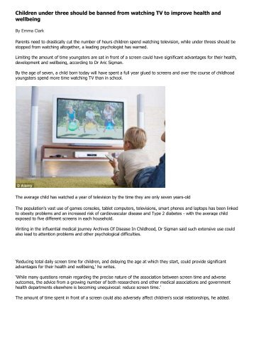 Children under 3 should be BANNED from ... - Hizbul Ulama UK