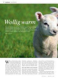 Wollig warm