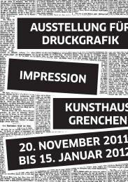 Programm - Hochschule der Künste Bern