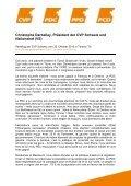 Medienmappe - CVP Schweiz - Page 2