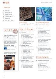 Inhaltsverzeichnis (PDF) - Macwelt