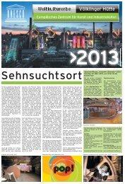 "Saisoneröffnung ""UrbanArt Biennale® 2013"" - Völklinger Hütte"
