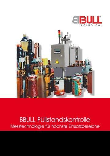 BBULL Füllstandskontrolle - BBULL TECHNOLOGY