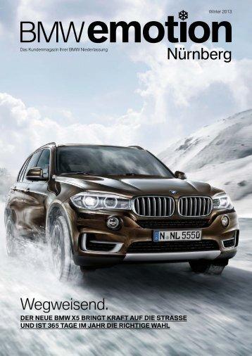 BMW emotion 4/2013 Ausgabe hier als PDF herunterladen.