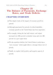 Chapter 25 The Balance of Payments, Exchange Rates, and Trade ...