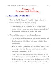 Chapter 31 Money and Banking