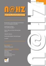 Nummer 03, Jg. 2013 - Neuer Wissenschaftlicher Verlag