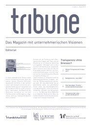 3/2013 Das Magazin mit unternehmerischen Visionen