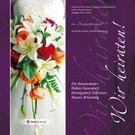 Der Hochzeitsmanager für Berlin und das Land Brandenburg
