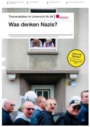 Was denken Nazis? - Bundeszentrale für politische Bildung