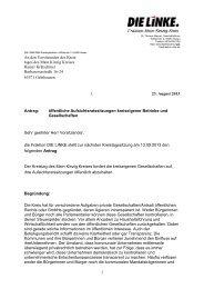 A 83/2013 - des Main-Kinzig-Kreises