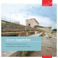 Broschüre Lernort Zeppelinfeld - Stadt Nürnberg