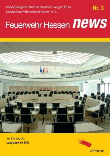 Feuerwehr Hessen News Nr. 3 - Landesfeuerwehrverband Hessen