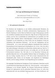 Festrede von Prof. Dr. Hans-Jürgen Papier - Bayerischer Landtag