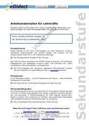 Arbeitsmaterialien Sekundarstufe - Staatszerfall und ... - bei eDidact