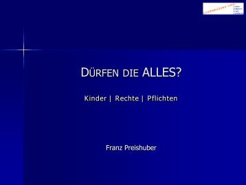 Kinder | Rechte | Pflichten - Elternbildung Tirol